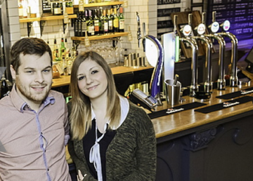 Tara & Andrew took over the White Hart in November 2015.