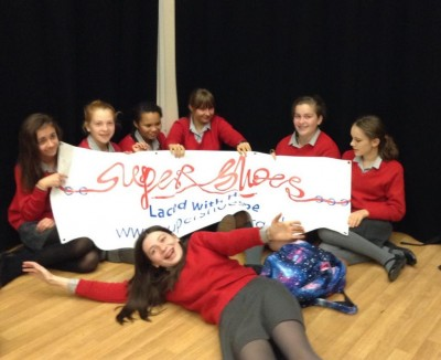 Students fundraising for Supershoes
