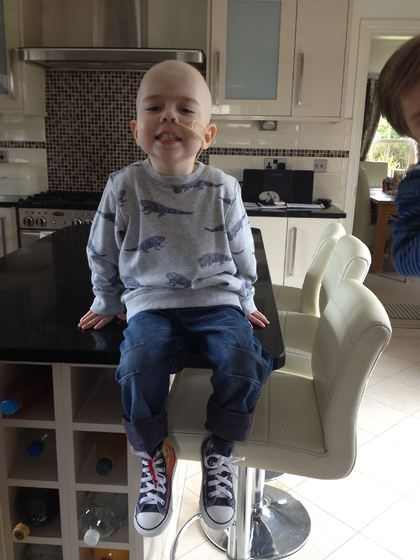 Reuben with their Supershoes