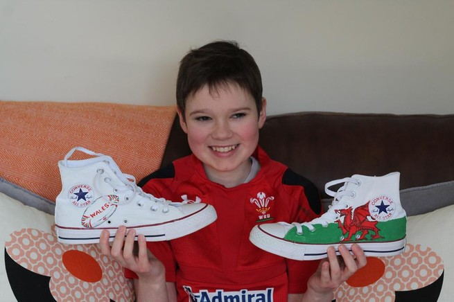 Super Wils with their Supershoes